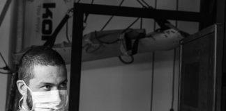 Curro Martínez en su laboratorio de en ASAC Vertical Lab.