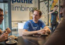 Nacho Sánchez en Sputnik Climbing La Cantina
