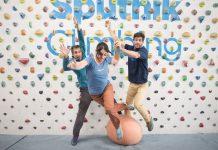 Entrenamiento On line Sputnik. Jorge, Rebeca y Ekhiotz