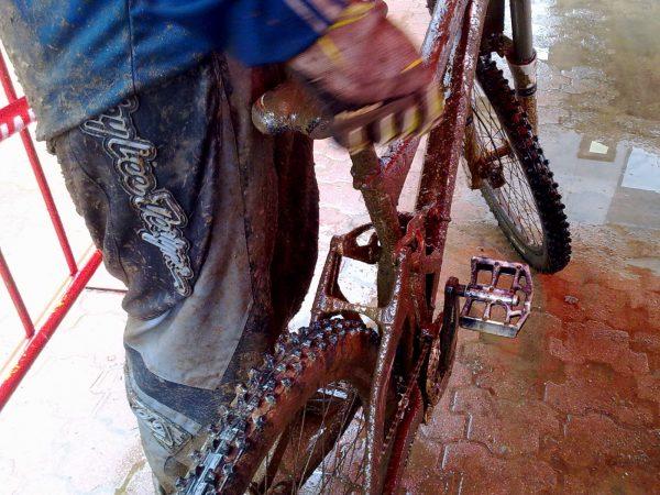 Reparación bicicleta