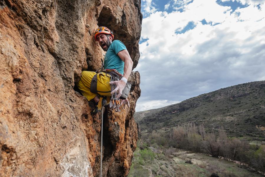 ¡Volvemos a la roca! Tómatelo con calma. ©ClownClimbing
