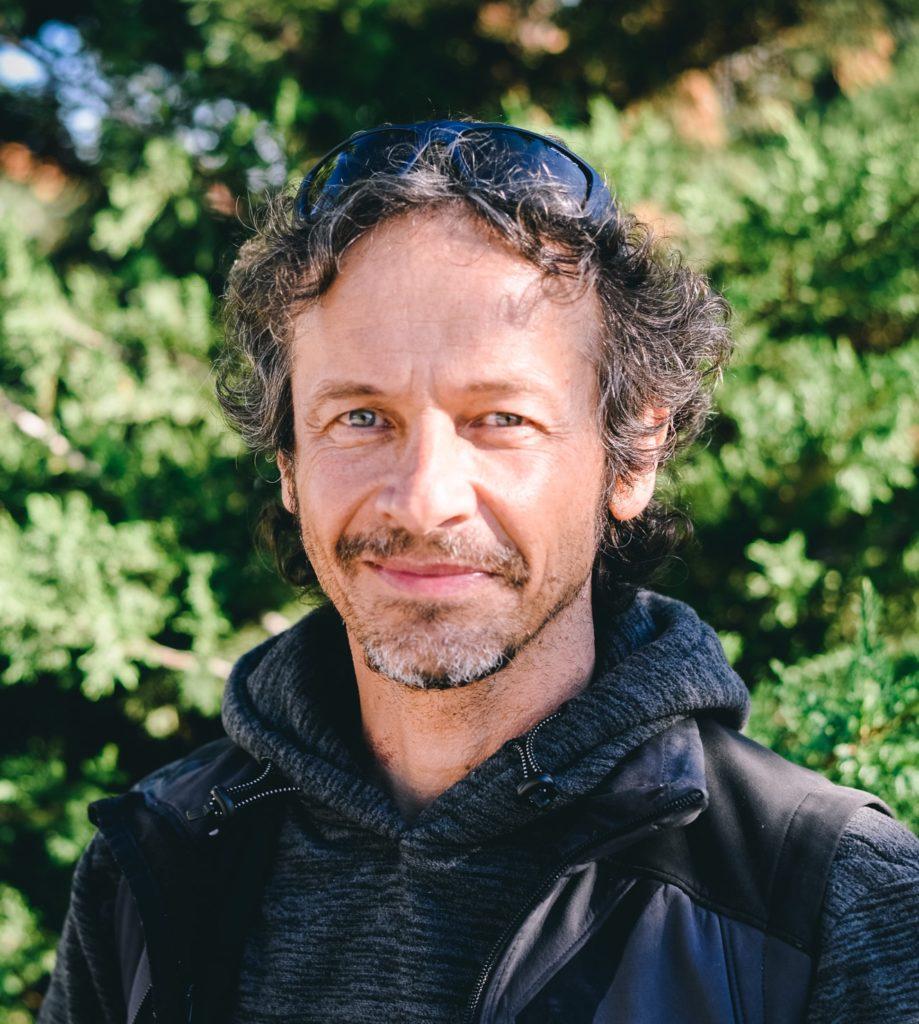 José Luis Núñez, responsable del área de Medio Ambiente de Escalada Sostenible.